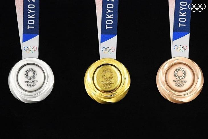 Les médailles des JO