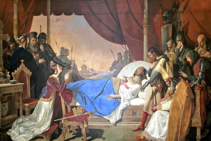 La mort de Saint-Louis à Tunis