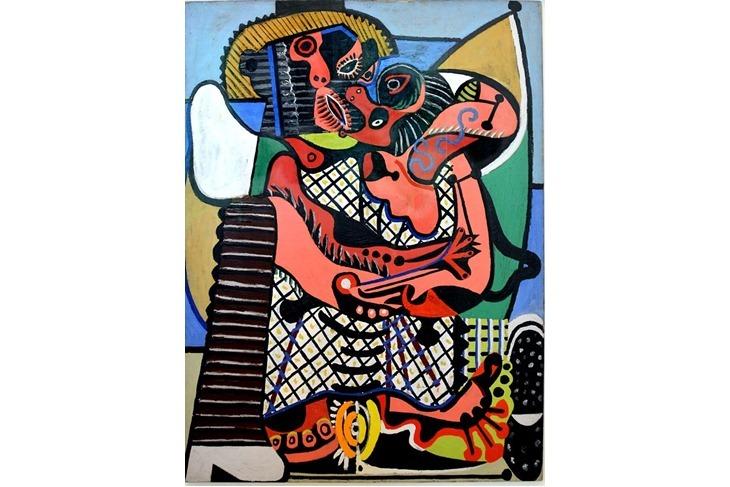Le Baiser à Juan-les-Pins_Pablo Picasso