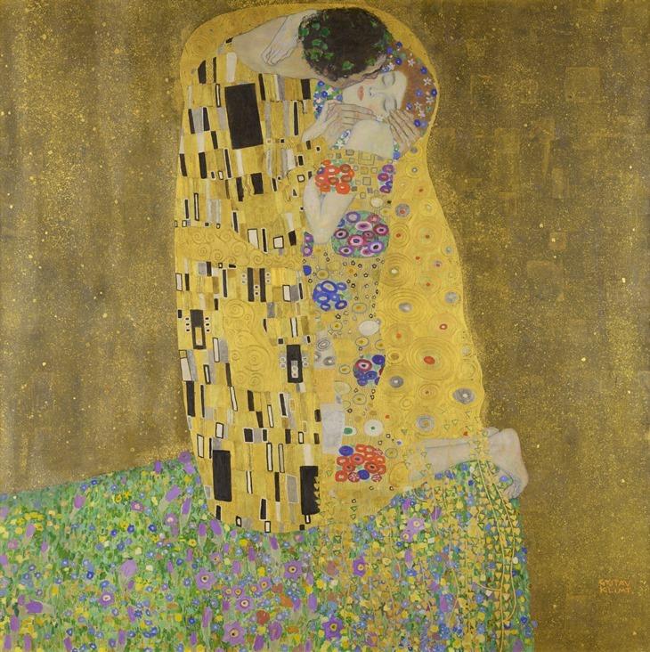Le Baiser_Gustav Klimt