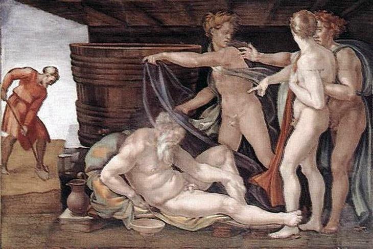 ivresse_Michelangelo_drunken_Noah